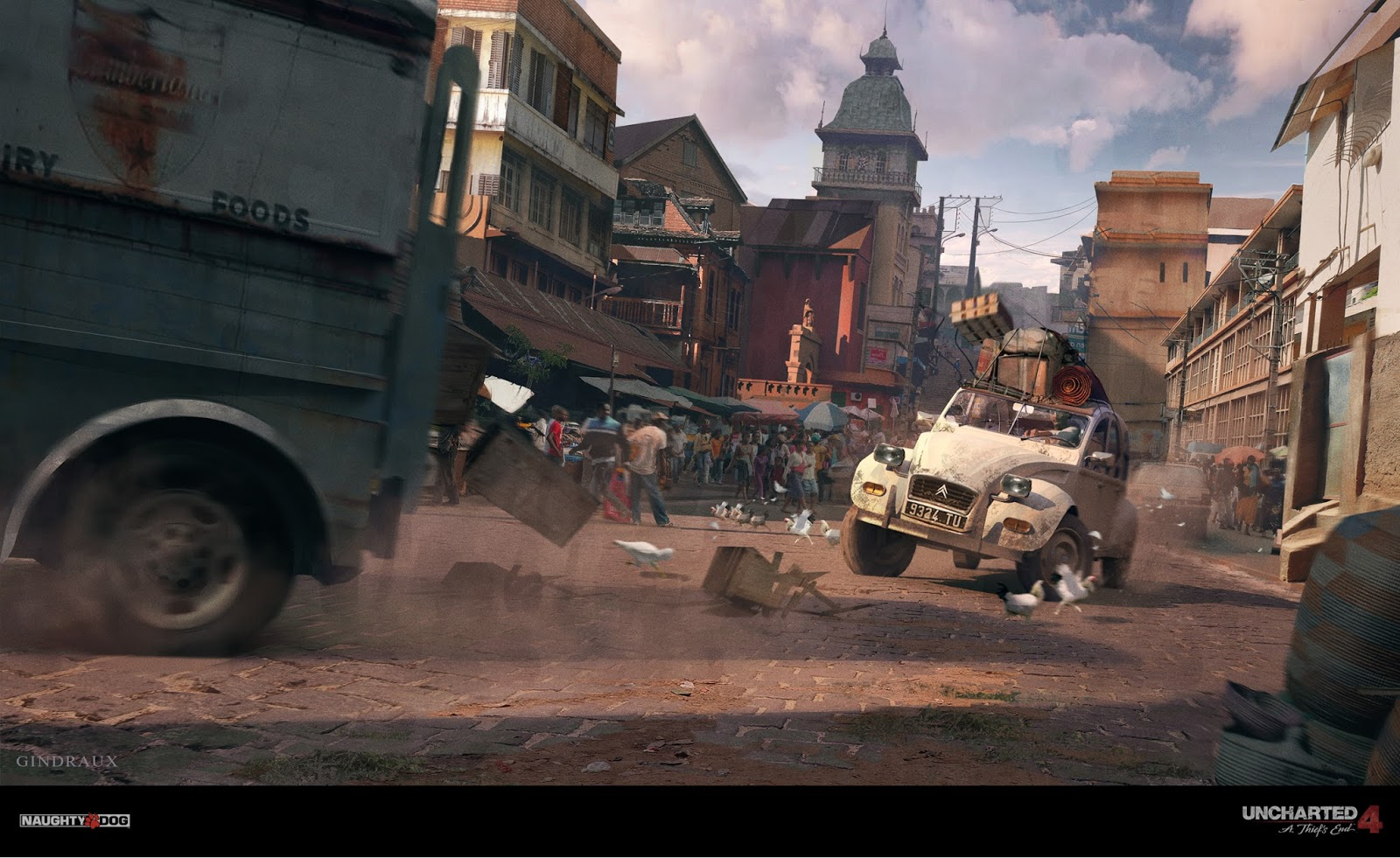 Nick Gindraux: Uncharted 4