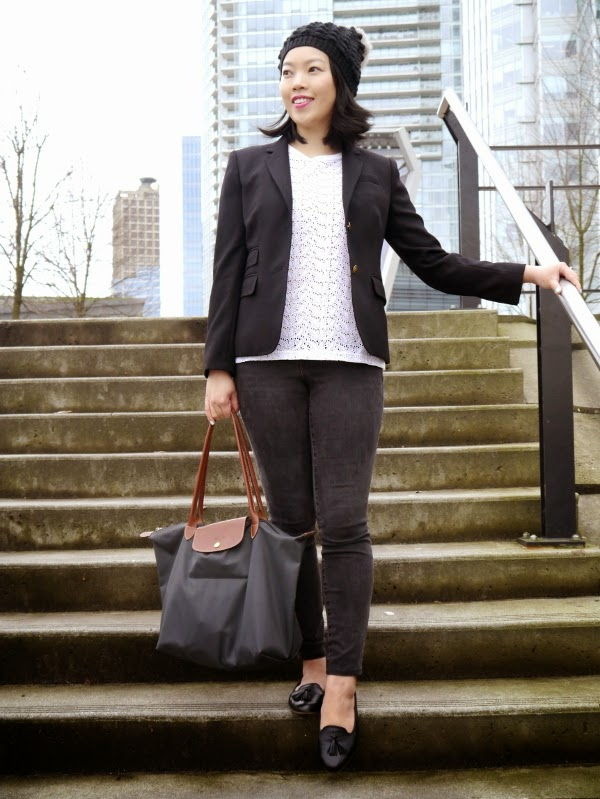 Transitional weather black-and-white look