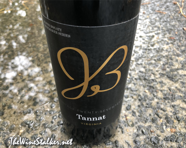 Justin Bogaty Winemaker Selection Tannat 2017