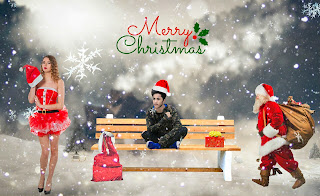 Christmas Photo Editing| Merry Christmas PicsArt manipulation tutorial|Santa claus PicsArt Tutorial