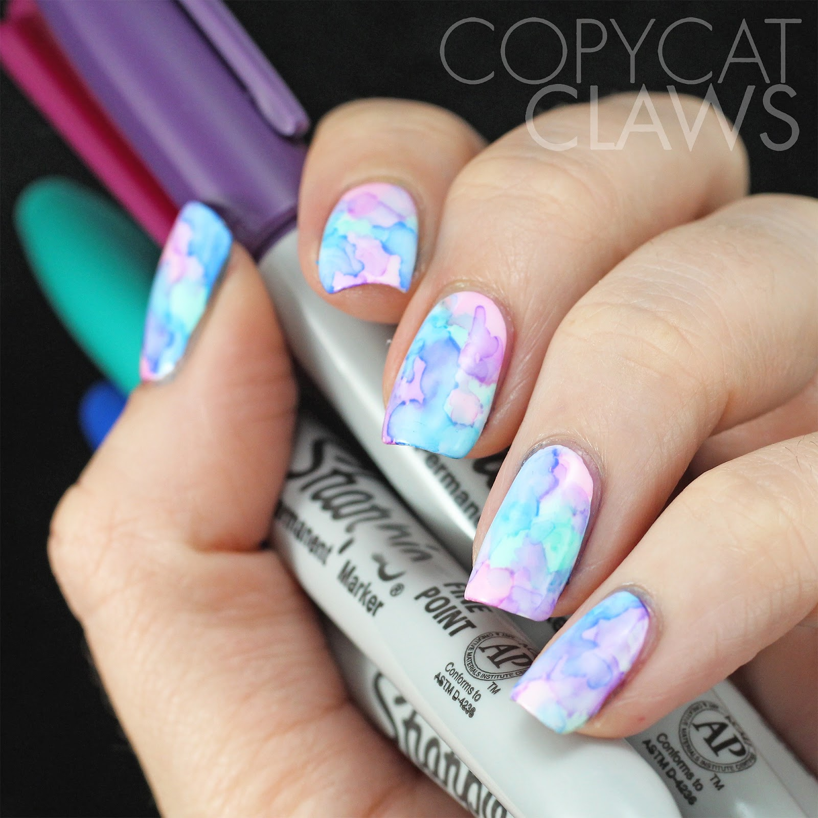 Copycat Claws: Sunday Stamping - Chevrons and Zig Zags