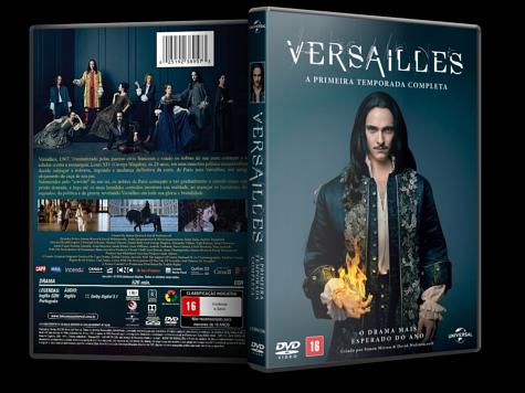 Capa DVD Versailles - 1ª Temporada