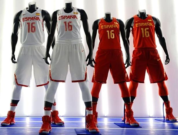 Nike lança uniformes de basquete da Espanha para Rio 2016 - Show de ... 8da6e58f4310e