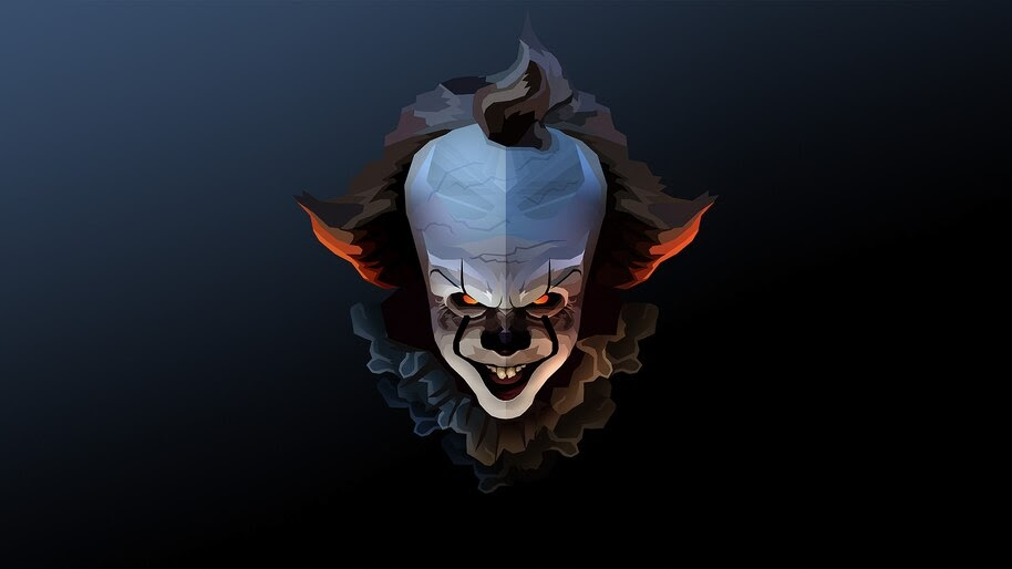 It Chapter 2 Pennywise Scary Clown 4k Wallpaper 3 123
