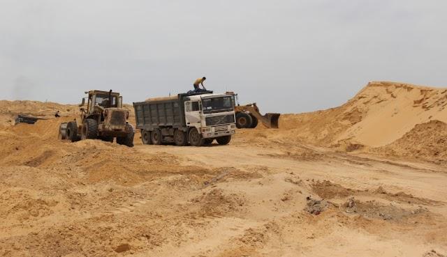 مشاكل بيئية يخلفها أحد المقالع بجماعة بن امعاشو و اللجنة الإقليمية للمقالع تؤكد الأضرار