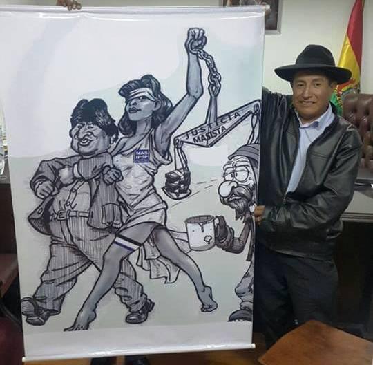 Rafael Quispe es el primer opositor en ir por el voto nulo para los comicios de octubre