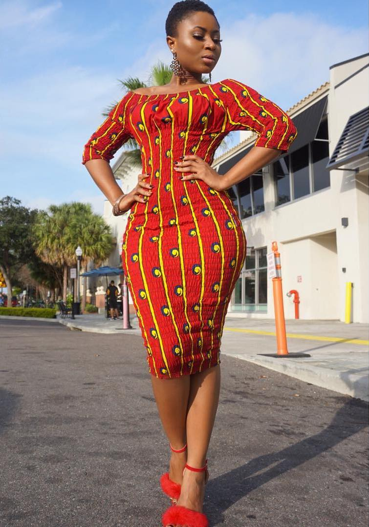 10 Latest Ankara Short Gown Styles And Dresses For Ladies