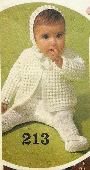 Fabulous Schattig baby jasje + mutsje om zelf te haken #CE58