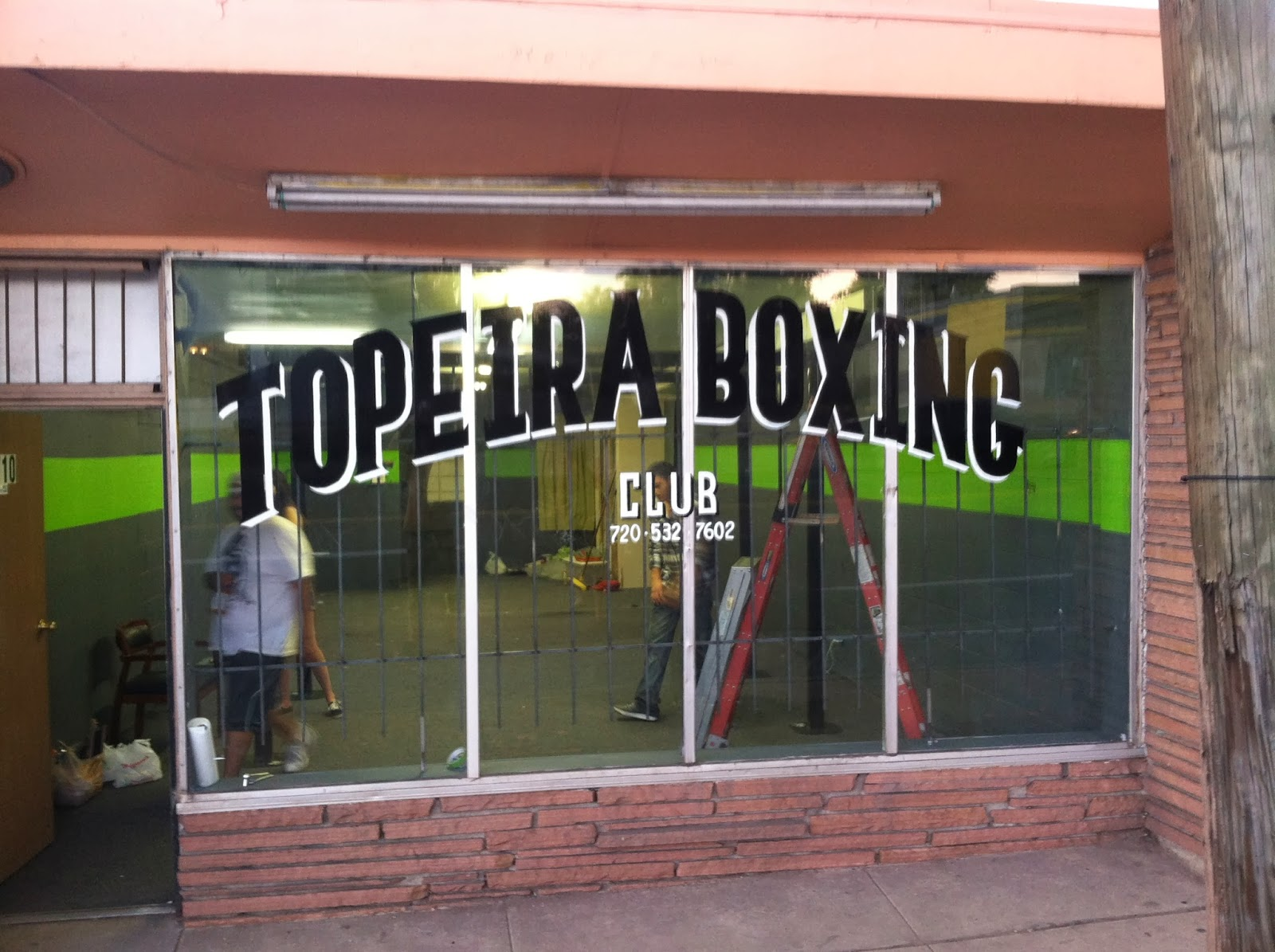K P F H: Toperia Boxing Gym in West Denver