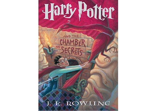#8   Harry Potter and The Chamber Of Secrets - JK Rowling