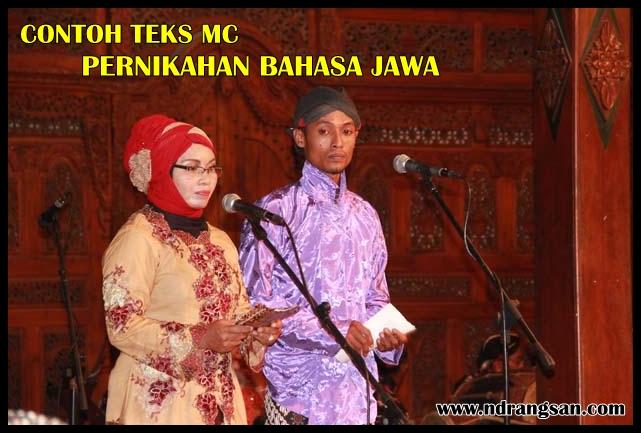 Contoh Teks Mc Pernikahan Bahasa Jawa Singkat Muda Mudi Condrowangsan