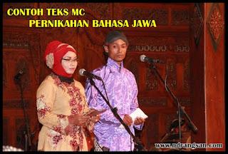 Contoh Teks MC Pernikahan Manten Bahasa Jawa Krama