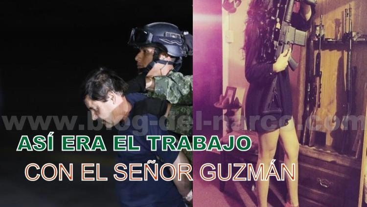 No se puede vender ni un toque sin la autorización del Patrón Guzmán Loera