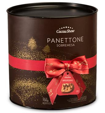 Cacau Show Natal 2016 panettone sobremesa natalina