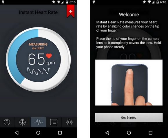 Instant Heart Rate - Δωρεάν εφαρμογή που σου μετράει τους καρδιακούς παλμούς
