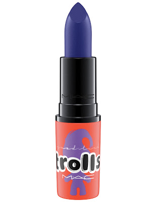 mac trolls collection lipstick midnight troll