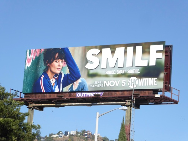 SMILF series premiere billboard
