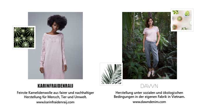 Lookbook: Sustainable Summer // DAWN & karinfraidenraij