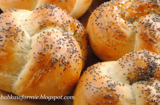 bułki bułeczki pszenno żytnie babkawformie.blogspot.com