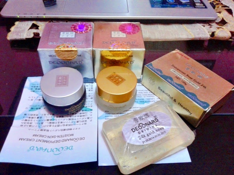 Paket Cream Deoonard Gold Silver