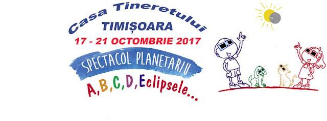 Planetariu mobil revine la Timişoara in perioada 17-21 octombrie. Anul acesta spectacolul este despre eclipse și anotimpuri