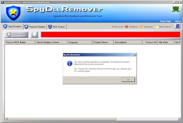 تحميل وتثبيت وشرح برنامج Spy DLL Remover 7.0 للحماية من التجسس