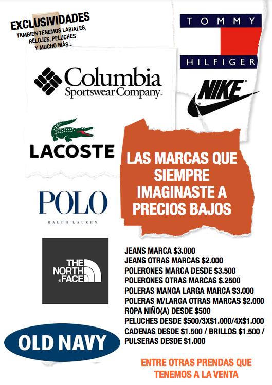 Jeans, Polerones, Poleras, Vestidos, Pantalones, Ropa para hombre, mujer y niños