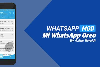 Mi WhatsApp Oreo By Azhar Rivaldi