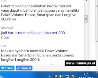 paket internet malam smartfren 4G hadir lagi