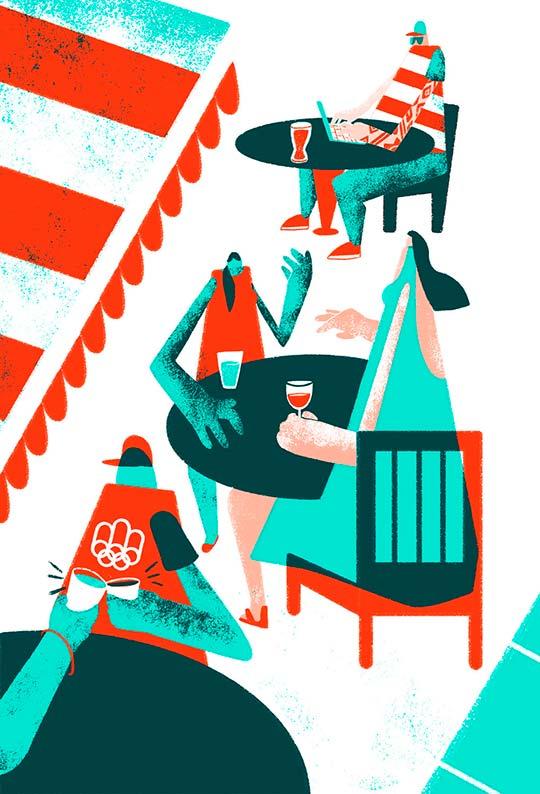 Ilustración de Amelie Tourangeau