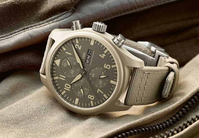 "IWC Pilot's Watch Chronograph Top Gun Edition ""Mojave Desert"" IW389103"