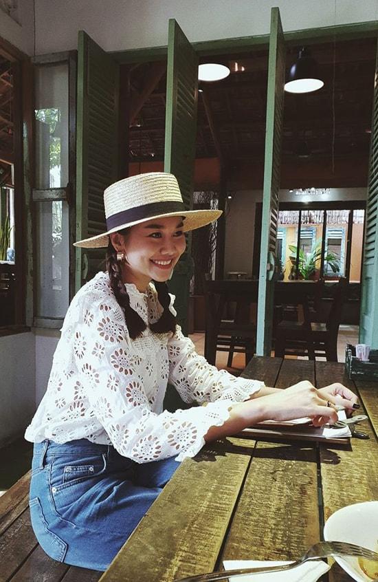 Sao Việt chuộng sắc trắng trong mùa oi nồng - Ảnh 2