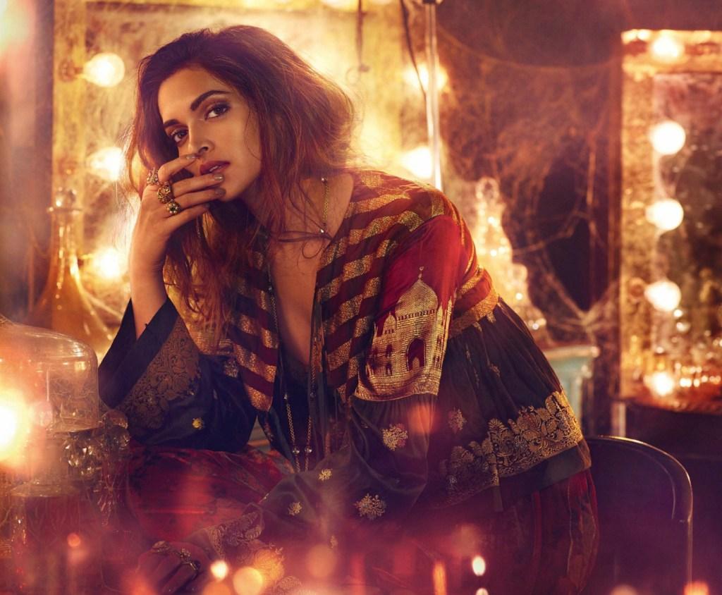 Deepika Padukone on Vogue India Magazine Cover November 2016 Issue 01