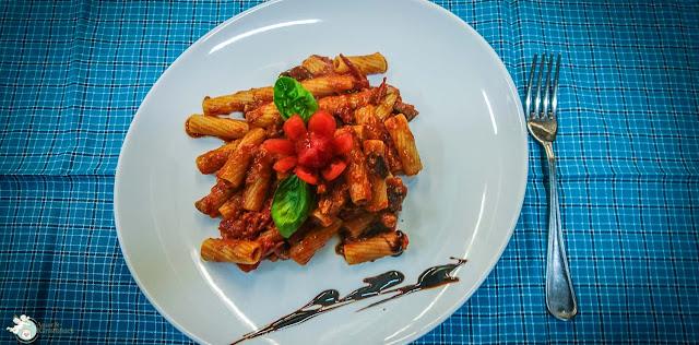 neapolitanisches Nudelgericht