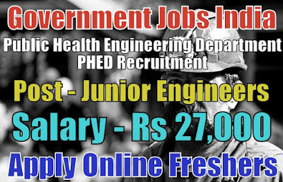 PHED Recruitment 2019