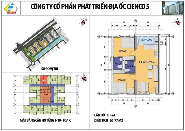 căn 65,77m2 tòa C hh02 b2.1
