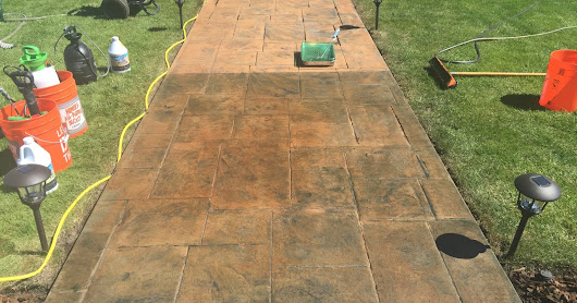 Sealers and Coatings on concrete