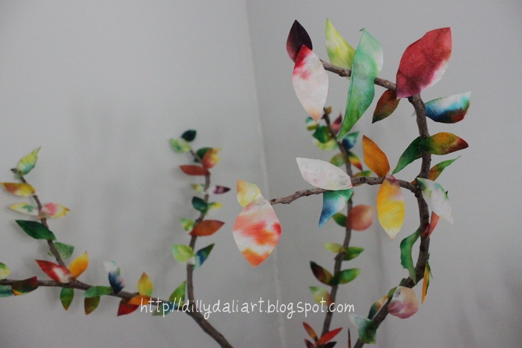 Coffee Filter Leaves Tree Lesson Plans