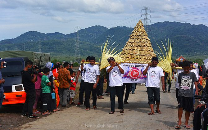 Grebeg Dumbeg Lasem Festival 2017 di desa Dasun