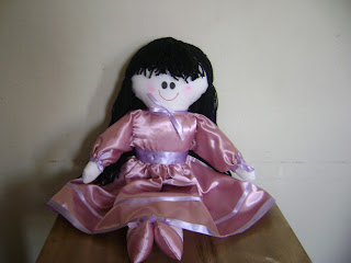 fotos+086 - Bonecas daminhas em tecido