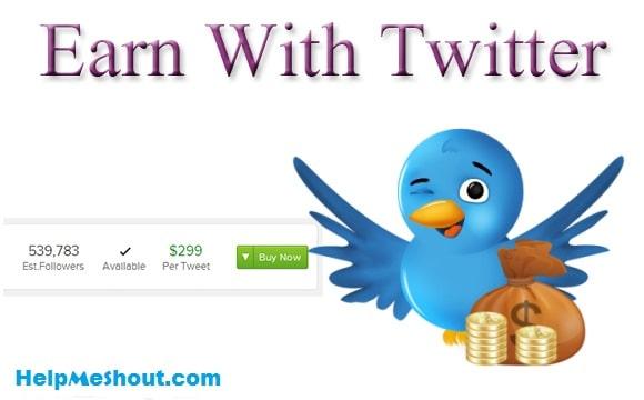 Best ways to make money from twitter | HelpMeShout