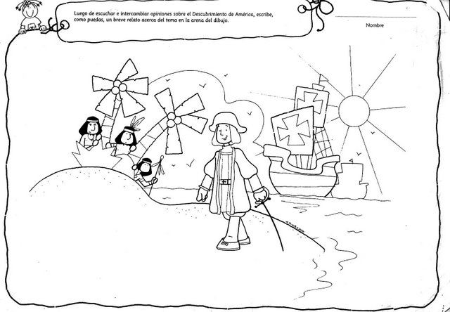 La Ardillita Orcereña Cuento Cristobal Colón