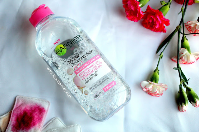 Garnier Micellar water for sensitive skin