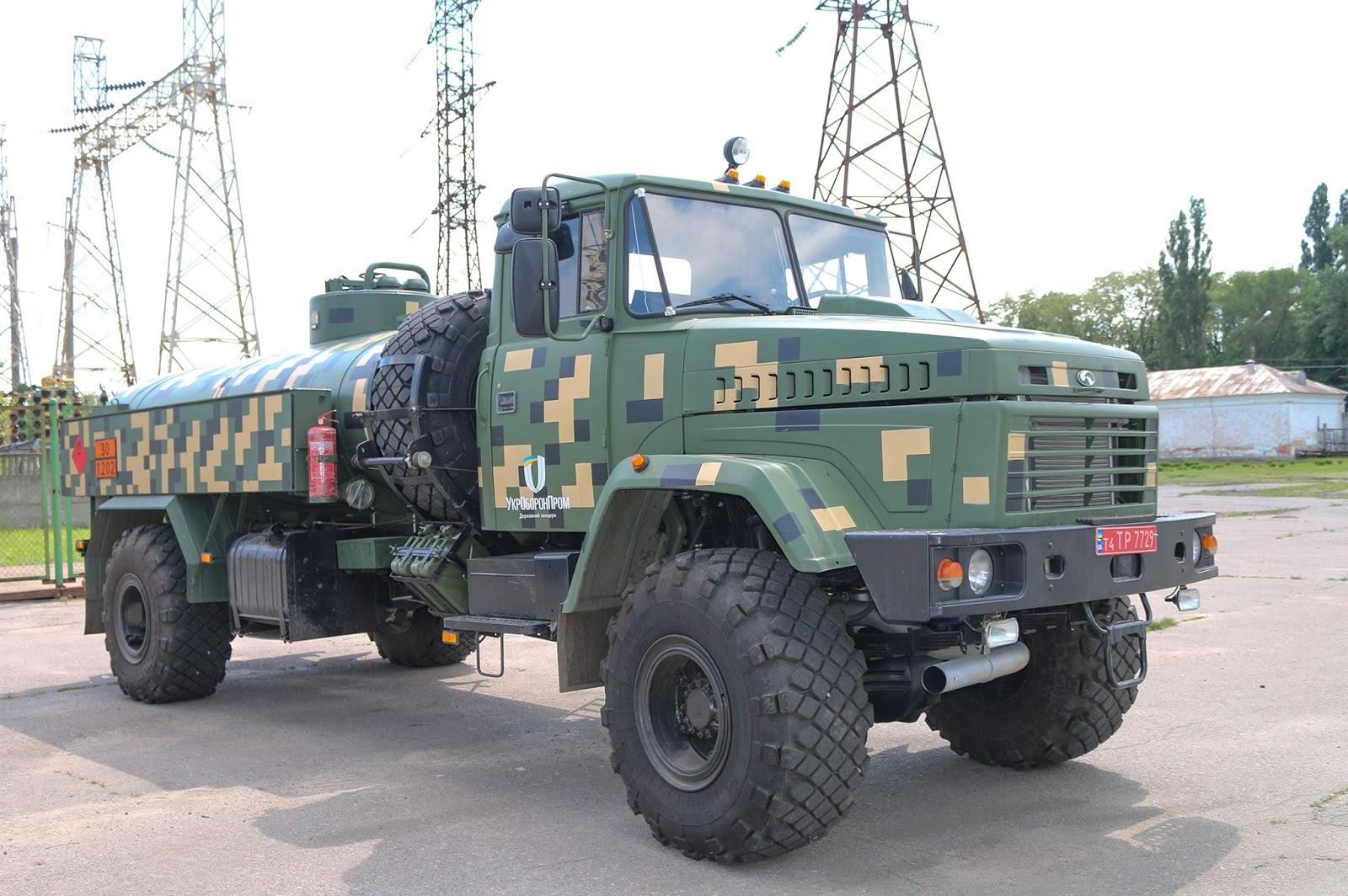 новий паливозаправник АПЗ-6,5-5233