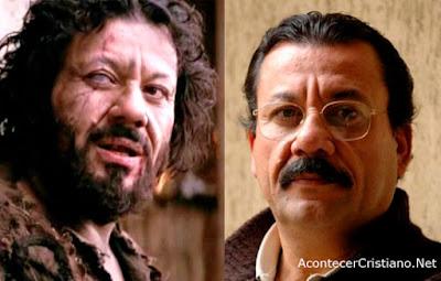 """Actor Pietro Sarubbi, barrabás en la """"Pasión de Cristo"""""""