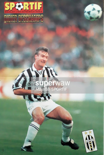 DIDIER DESCHAMPS JUVENTUS 1996