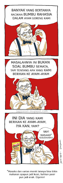 kfc cartoon