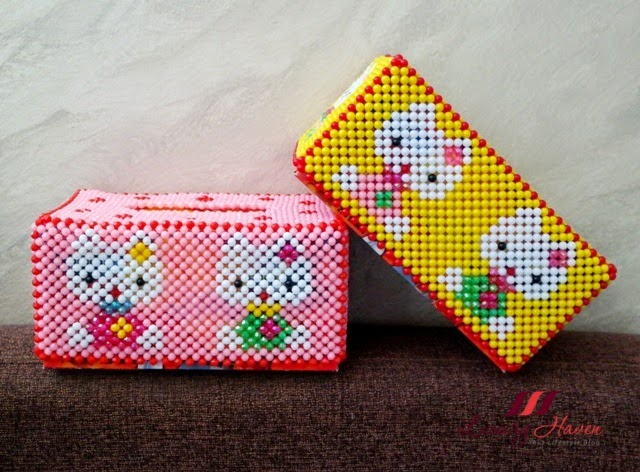 hello kitty tissue box pretty beaded handicrafts