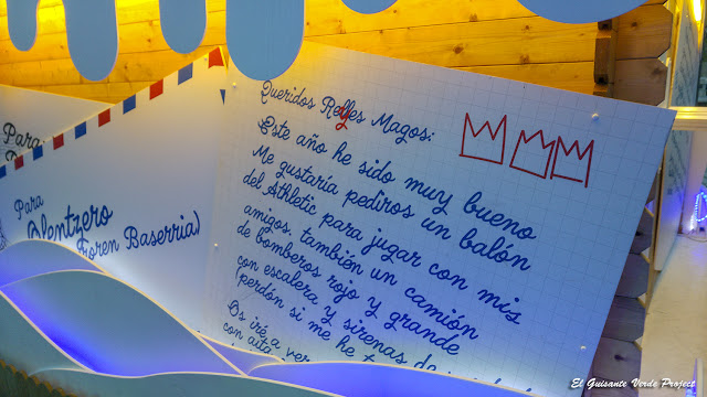 Carta a los Reyes Magos, Navidad en Bilbao por El Guisante Verde Project