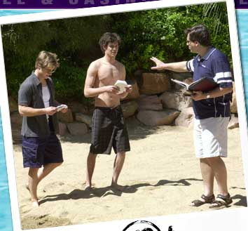 the o.c. behind the scenes set photos ryan and seth